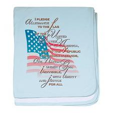 US Pledge - baby blanket