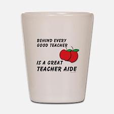 Great Teacher Aide Shot Glass