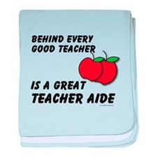 Great Teacher Aide baby blanket