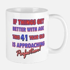 Funny 41st Birthdy designs Mug
