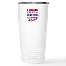 Funny 48th Birthdy designs Travel Mug