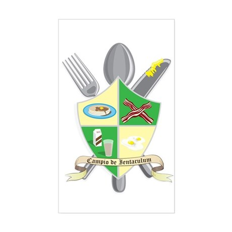 Champion of Breakfast Sticker (Rectangle)
