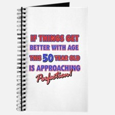 Funny 50th Birthdy designs Journal