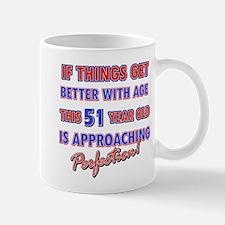 Funny 51st Birthdy designs Mug