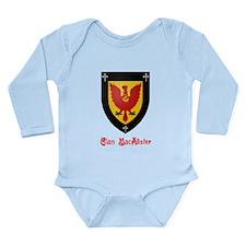 Clan MacAlister Long Sleeve Infant Bodysuit