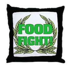AH: Food Fight! Throw Pillow