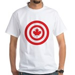Captain Canada White T-Shirt