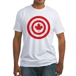 Captain Canada Fitted T-Shirt