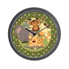 Jungle Safari Wall Clock - Yanuel Omar