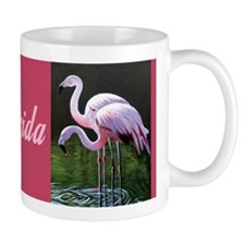 Florida Flamingos Small Mug