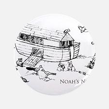 """Noah's Ark 3.5"""" Button"""