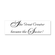 The Great Creator Became the Car Magnet 10 x 3