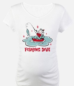 Retro Fishing Diva Shirt