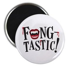 """Fang-tastic"" 2.25"" Magnet (10 pack"