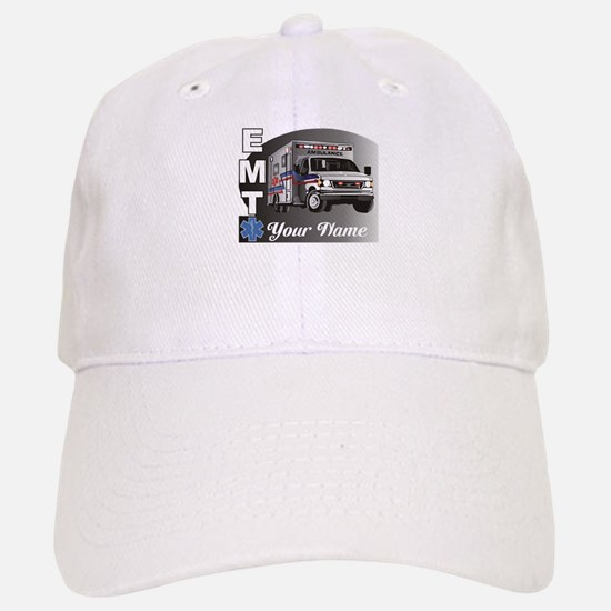Custom Personalized EMT Baseball Baseball Cap