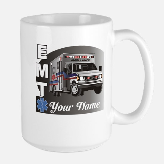 Custom Personalized EMT Large Mug