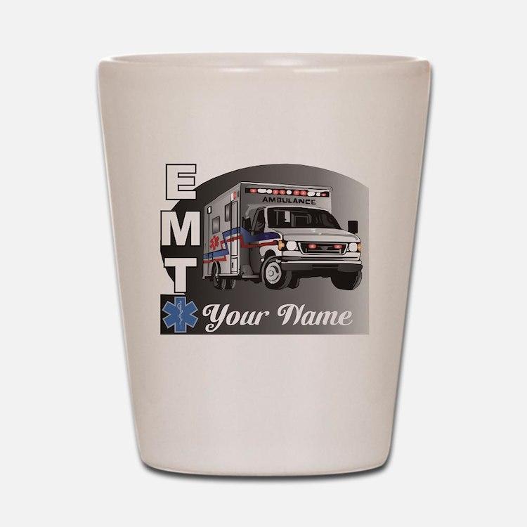 Custom Personalized EMT Shot Glass