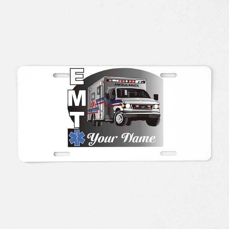 Custom Personalized EMT Aluminum License Plate
