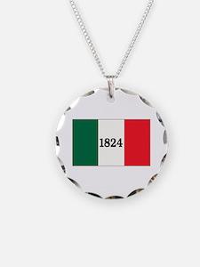 """FLAG OF THE TEXAS ALAMO"" Necklace"