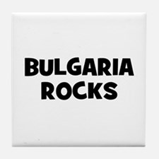 BULGARIA ROCKS Tile Coaster