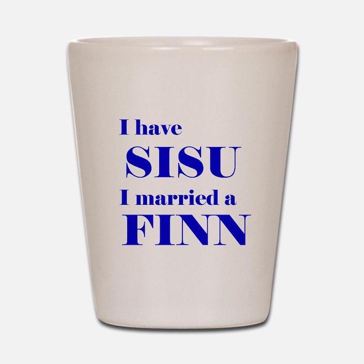Sisu Spouse Shot Glass