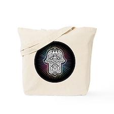 Unique Jewish hamsa Tote Bag