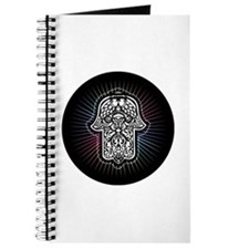 Funny Hand of peace Journal