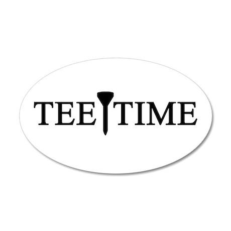 'Tee Time' 22x14 Oval Wall Peel