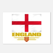 Flag of England Postcards (Package of 8)