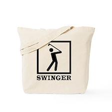 'Swinger' Tote Bag