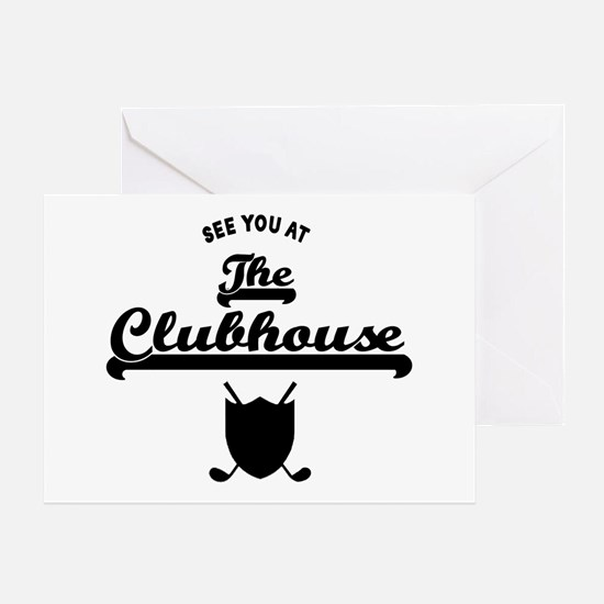 'The Clubhouse' Greeting Card