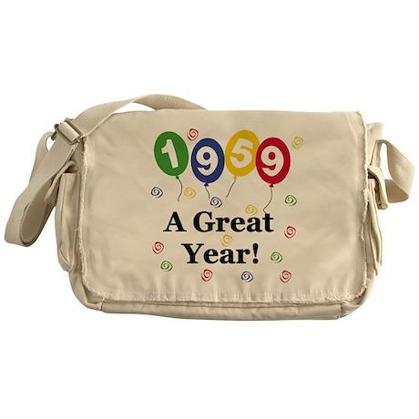 1959 A Great Year Messenger Bag
