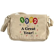 1982 A Great Year Messenger Bag