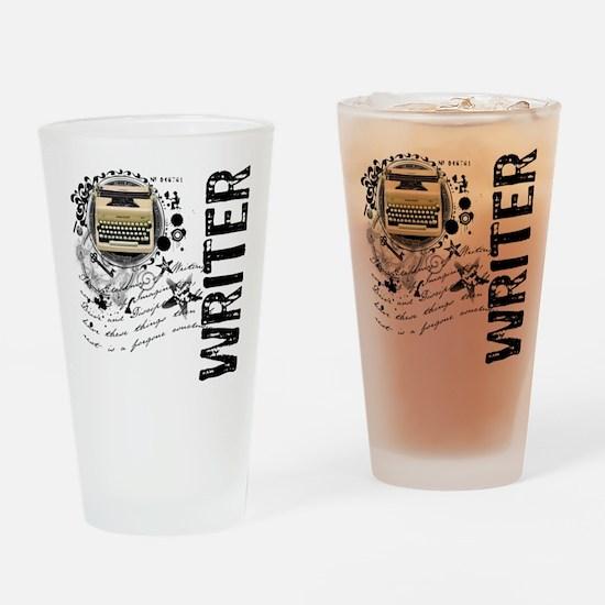 Writer Alchemy Drinking Glass