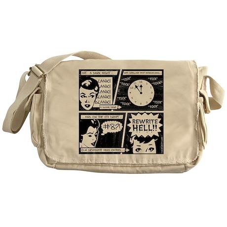 Rewrite Hell Writer's Messenger Bag