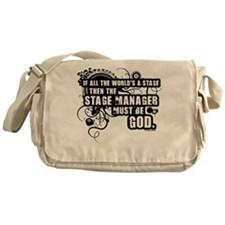Grunge Stage Manager Messenger Bag
