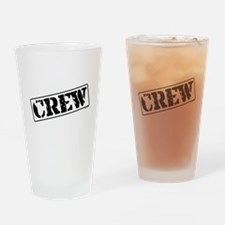 Crew Stamp Drinking Glass