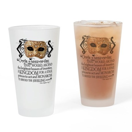 Henry V Drinking Glass