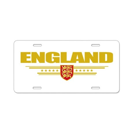 Flag of England Aluminum License Plate