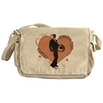 Valentine Wanted (Male) Messenger Bag