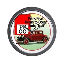 The Pikes Peak Ocean to Ocean Wall Clock