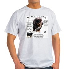Tibetan 1 Ash Grey T-Shirt