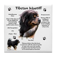Tibetan 1 Tile Coaster