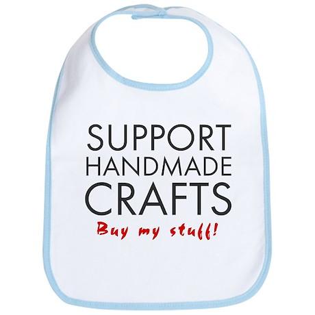 'Support Handmade Crafts' Bib