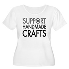'Support Handmade Crafts' T-Shirt