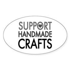 'Support Handmade Crafts' Decal