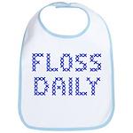 'Floss Daily' Bib