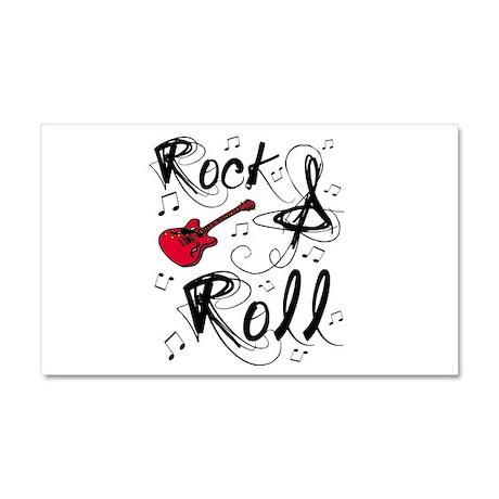 'Rock & Roll' Car Magnet 20 x 12