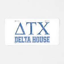AH: Delta2 Aluminum License Plate