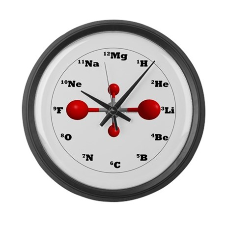 Elements Large Wall Clock